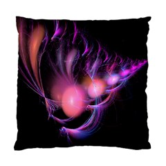 Fractal Image Of Pink Balls Whooshing Into The Distance Standard Cushion Case (one Side)