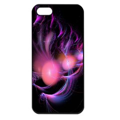Fractal Image Of Pink Balls Whooshing Into The Distance Apple Iphone 5 Seamless Case (black)