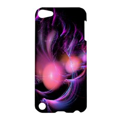 Fractal Image Of Pink Balls Whooshing Into The Distance Apple iPod Touch 5 Hardshell Case