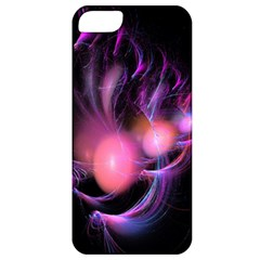 Fractal Image Of Pink Balls Whooshing Into The Distance Apple iPhone 5 Classic Hardshell Case