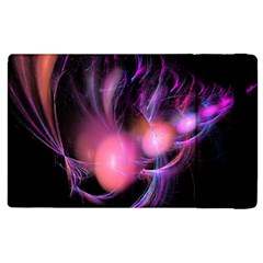 Fractal Image Of Pink Balls Whooshing Into The Distance Apple Ipad 3/4 Flip Case