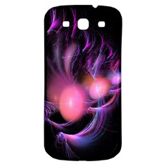 Fractal Image Of Pink Balls Whooshing Into The Distance Samsung Galaxy S3 S III Classic Hardshell Back Case