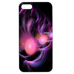 Fractal Image Of Pink Balls Whooshing Into The Distance Apple iPhone 5 Hardshell Case with Stand
