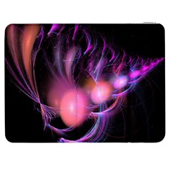 Fractal Image Of Pink Balls Whooshing Into The Distance Samsung Galaxy Tab 7  P1000 Flip Case