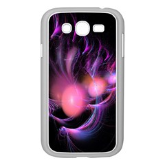 Fractal Image Of Pink Balls Whooshing Into The Distance Samsung Galaxy Grand DUOS I9082 Case (White)