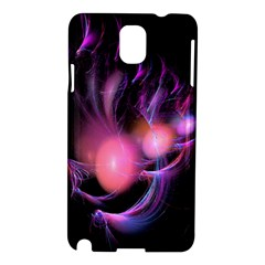 Fractal Image Of Pink Balls Whooshing Into The Distance Samsung Galaxy Note 3 N9005 Hardshell Case