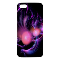 Fractal Image Of Pink Balls Whooshing Into The Distance iPhone 5S/ SE Premium Hardshell Case