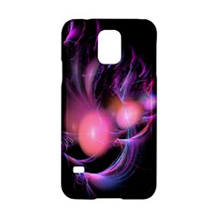 Fractal Image Of Pink Balls Whooshing Into The Distance Samsung Galaxy S5 Hardshell Case