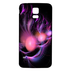Fractal Image Of Pink Balls Whooshing Into The Distance Samsung Galaxy S5 Back Case (white)