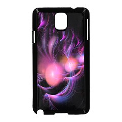 Fractal Image Of Pink Balls Whooshing Into The Distance Samsung Galaxy Note 3 Neo Hardshell Case (Black)