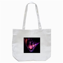 Fractal Image Of Pink Balls Whooshing Into The Distance Tote Bag (White)