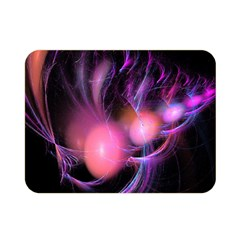 Fractal Image Of Pink Balls Whooshing Into The Distance Double Sided Flano Blanket (Mini)