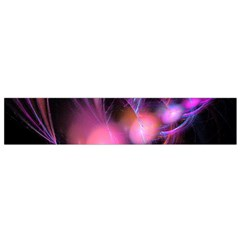 Fractal Image Of Pink Balls Whooshing Into The Distance Flano Scarf (Small)
