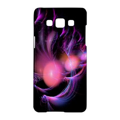 Fractal Image Of Pink Balls Whooshing Into The Distance Samsung Galaxy A5 Hardshell Case