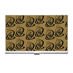 Art Abstract Artistic Seamless Background Business Card Holders
