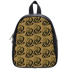 Art Abstract Artistic Seamless Background School Bags (small)