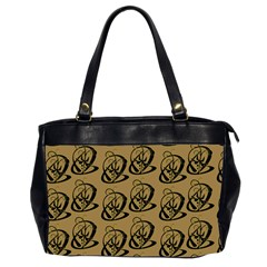 Art Abstract Artistic Seamless Background Office Handbags (2 Sides)