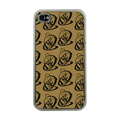 Art Abstract Artistic Seamless Background Apple Iphone 4 Case (clear)