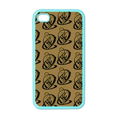 Art Abstract Artistic Seamless Background Apple iPhone 4 Case (Color)