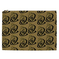 Art Abstract Artistic Seamless Background Cosmetic Bag (XXL)