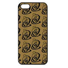 Art Abstract Artistic Seamless Background Apple iPhone 5 Seamless Case (Black)