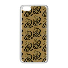 Art Abstract Artistic Seamless Background Apple iPhone 5C Seamless Case (White)