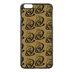 Art Abstract Artistic Seamless Background Apple iPhone 6 Plus/6S Plus Black Enamel Case