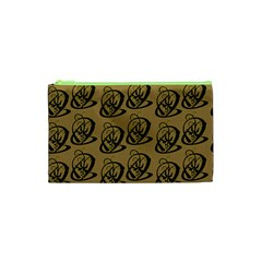 Art Abstract Artistic Seamless Background Cosmetic Bag (XS)