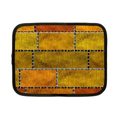 Classic Color Bricks Gradient Wall Netbook Case (small)