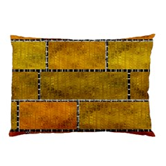 Classic Color Bricks Gradient Wall Pillow Case