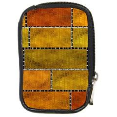 Classic Color Bricks Gradient Wall Compact Camera Cases