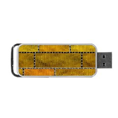 Classic Color Bricks Gradient Wall Portable Usb Flash (two Sides)