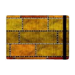 Classic Color Bricks Gradient Wall Apple iPad Mini Flip Case