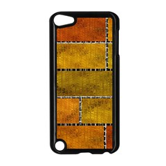 Classic Color Bricks Gradient Wall Apple iPod Touch 5 Case (Black)