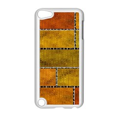 Classic Color Bricks Gradient Wall Apple iPod Touch 5 Case (White)