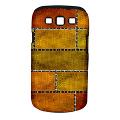 Classic Color Bricks Gradient Wall Samsung Galaxy S III Classic Hardshell Case (PC+Silicone)
