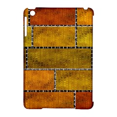 Classic Color Bricks Gradient Wall Apple iPad Mini Hardshell Case (Compatible with Smart Cover)