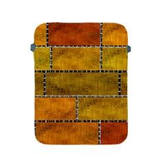 Classic Color Bricks Gradient Wall Apple iPad 2/3/4 Protective Soft Cases