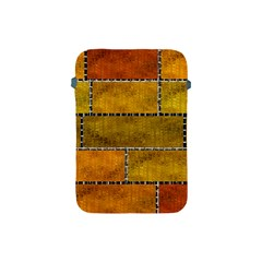 Classic Color Bricks Gradient Wall Apple iPad Mini Protective Soft Cases