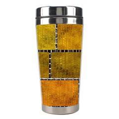 Classic Color Bricks Gradient Wall Stainless Steel Travel Tumblers