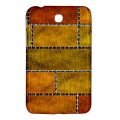 Classic Color Bricks Gradient Wall Samsung Galaxy Tab 3 (7 ) P3200 Hardshell Case