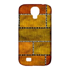 Classic Color Bricks Gradient Wall Samsung Galaxy S4 Classic Hardshell Case (PC+Silicone)