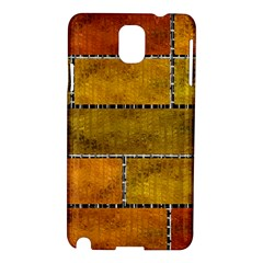 Classic Color Bricks Gradient Wall Samsung Galaxy Note 3 N9005 Hardshell Case