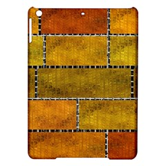 Classic Color Bricks Gradient Wall iPad Air Hardshell Cases