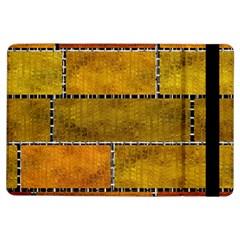 Classic Color Bricks Gradient Wall iPad Air Flip