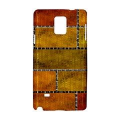 Classic Color Bricks Gradient Wall Samsung Galaxy Note 4 Hardshell Case