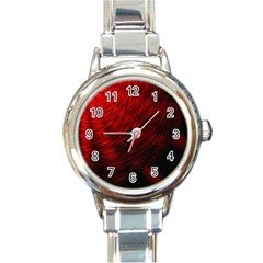 A Large Background With A Burst Design And Lots Of Details Round Italian Charm Watch