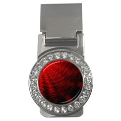 A Large Background With A Burst Design And Lots Of Details Money Clips (cz)