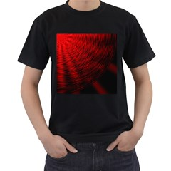 A Large Background With A Burst Design And Lots Of Details Men s T Shirt (black) (two Sided)
