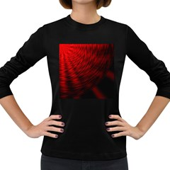 A Large Background With A Burst Design And Lots Of Details Women s Long Sleeve Dark T Shirts